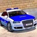 高级警车驾驶